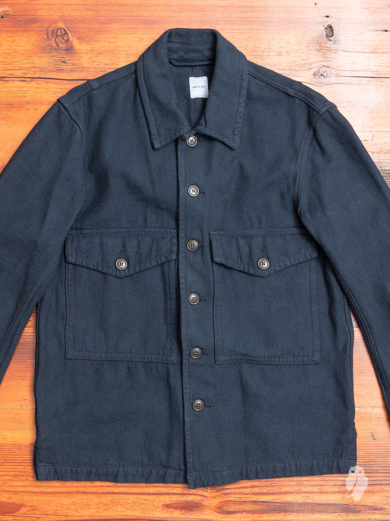 Military Shirt in Navy