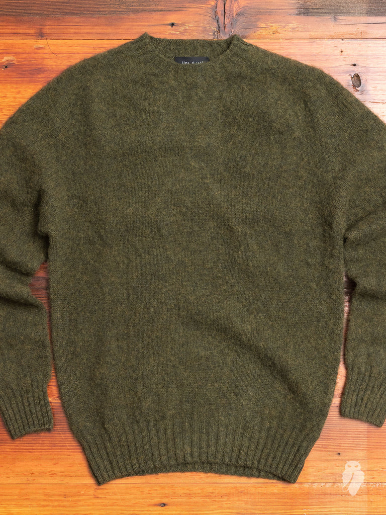 """Birth of the Cool"" Wool Sweater in Swamp"