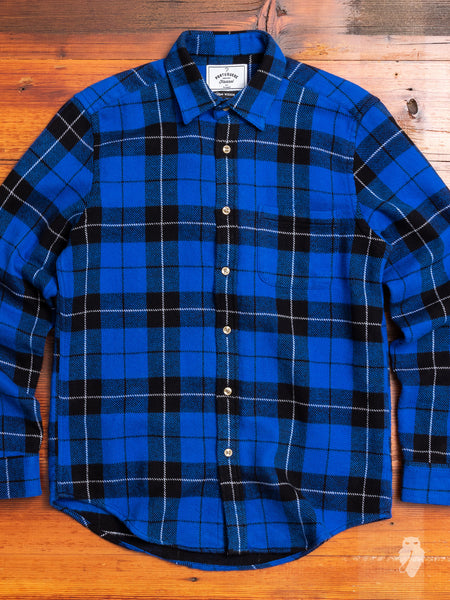 Colorado Button-Up Shirt in Blue