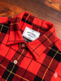 Colorado Button-Up Shirt in Red