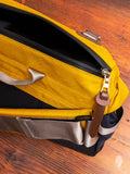 Hunter Messenger Bag in Yellow