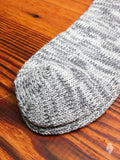 Melange Sock in Graphite