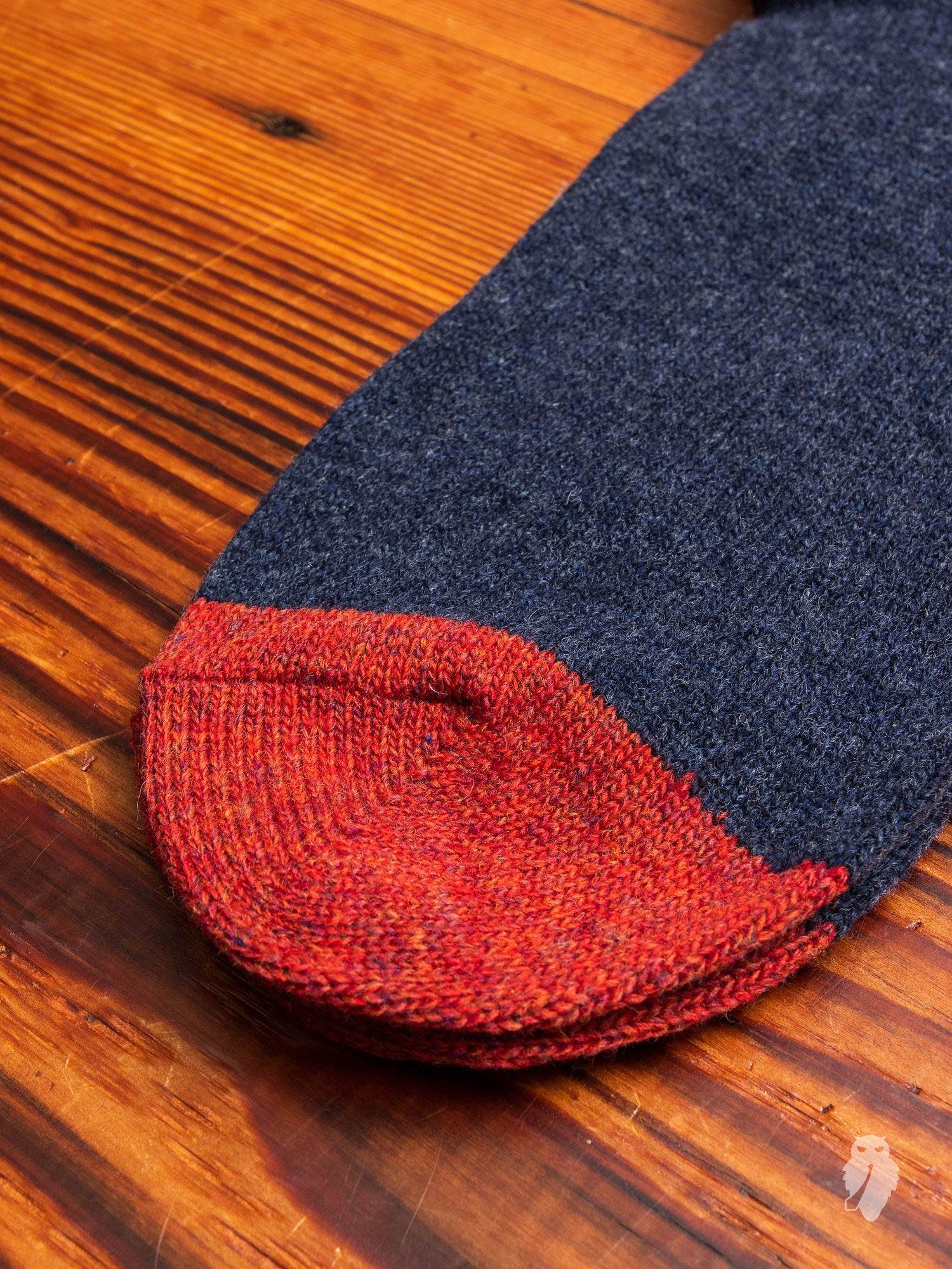 Cashmere Crew Sock in Blue