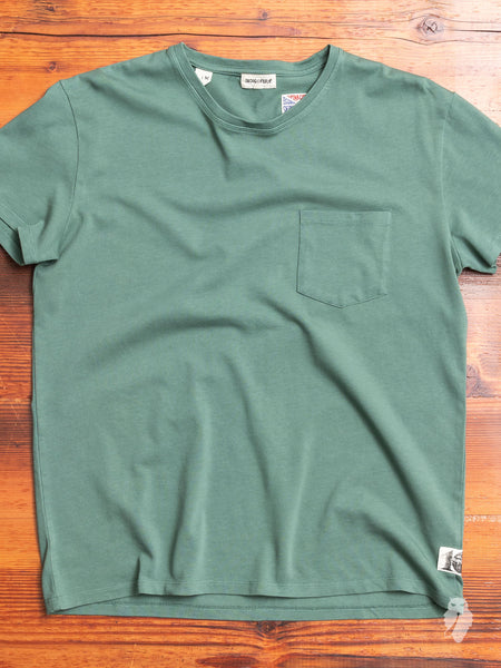 Wilson Pocket T-Shirt in Clover Green