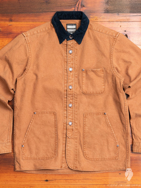 03-131 Duck Work Jacket in Brown