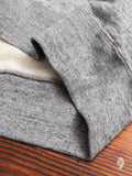07-075 Followers Loopwheel Creckneck Sweater in Grey