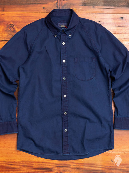 Oxford Button-Down Shirt in Indigo