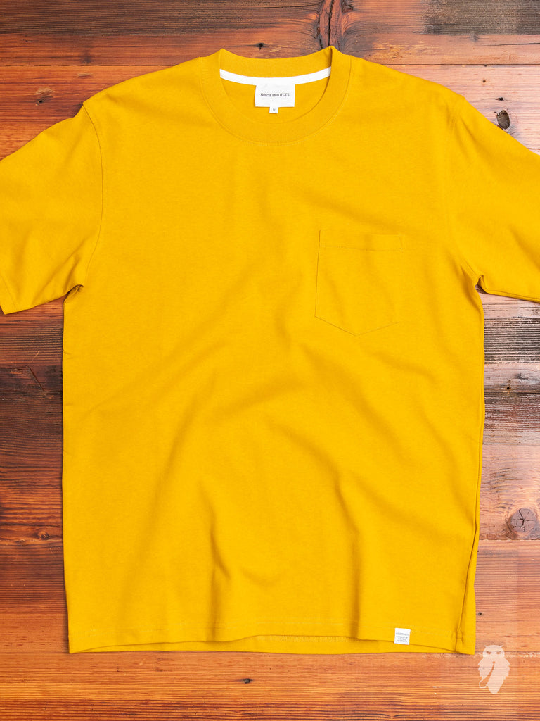Johannes Pocket T-Shirt in Montpellier Yellow