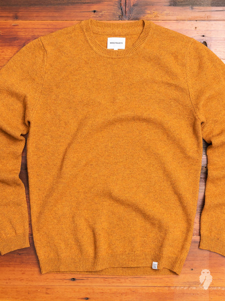 Sigfred Lambswool Sweater in Montpellier Yellow