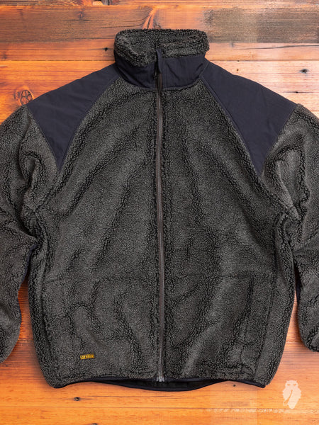Boa Jacket in Charcoal Grey