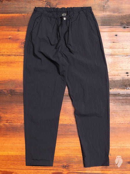 New Yorker Pants in Black Nylon