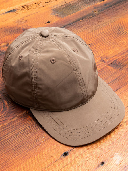 Baseball Cap in Velvet Grey