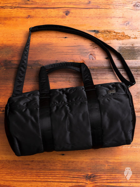 """Tanker"" 2-Way Boston Bag in Black"