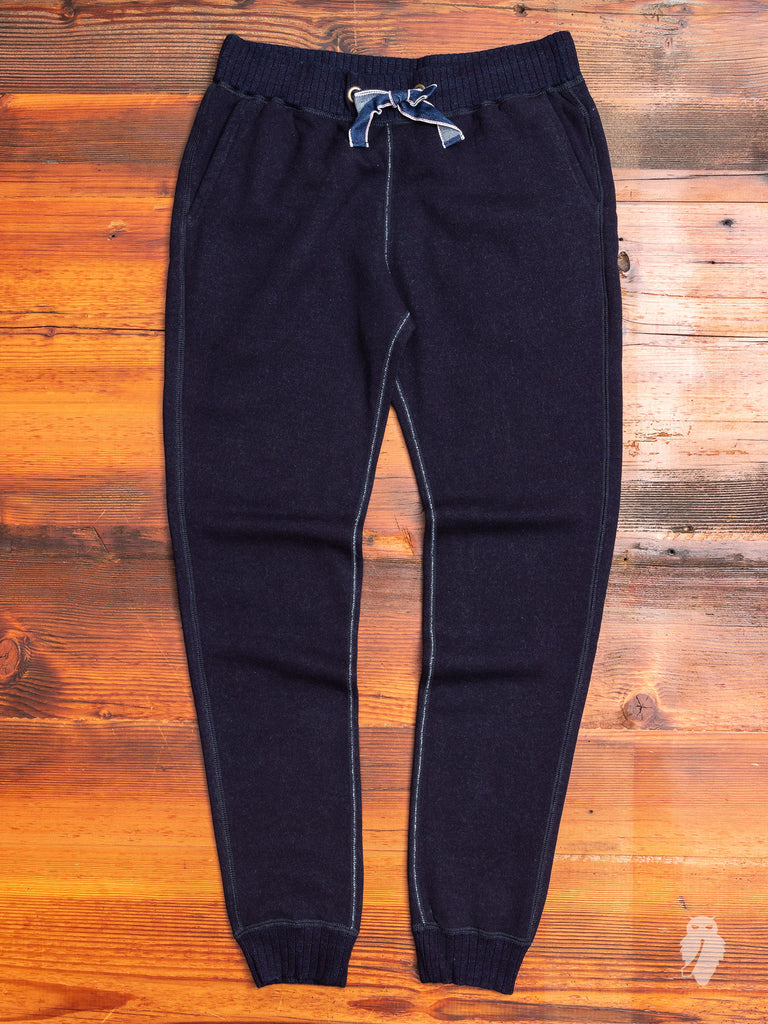 Rope Dyed Sweatpants in Indigo