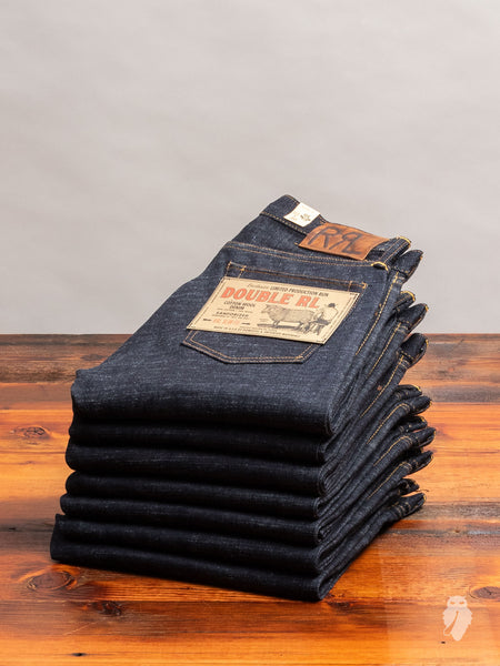 12oz Wool Blend Selvedge Denim - Slim Fit