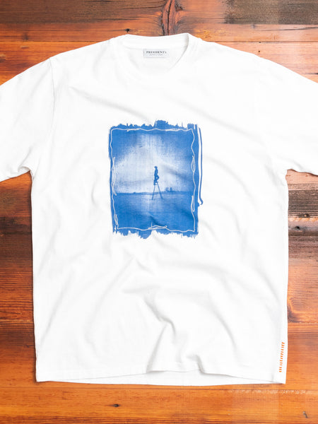 """La Scala"" T-Shirt in White"