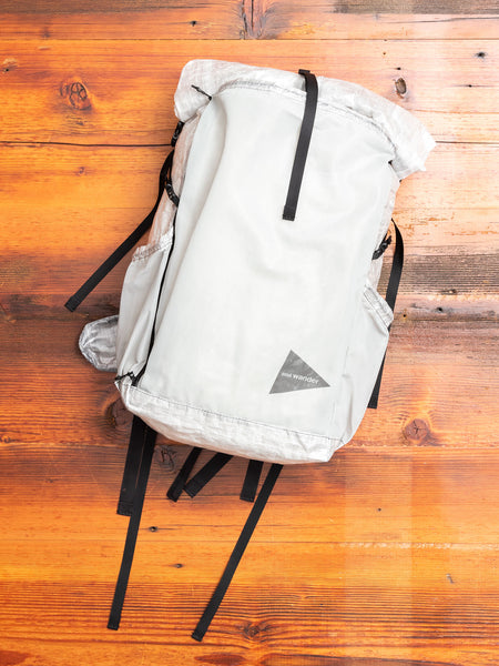 25L Cuben Fiber Backpack in Off White