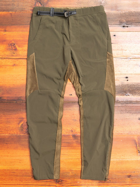 Fleece Base Pants in Khaki