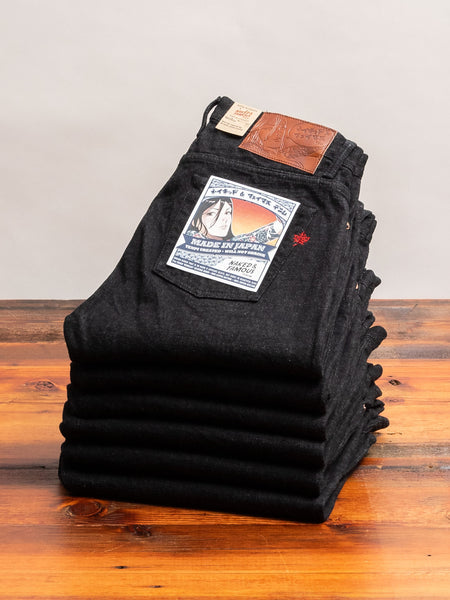 """Yahan Midnight Selvedge"" 17oz Selvedge Denim - Weird Guy Fit"