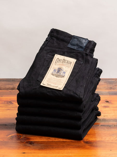 "546AIZ ""Aizumi x Black Secret"" 20oz Selvedge Denim - Slim Straight Fit"