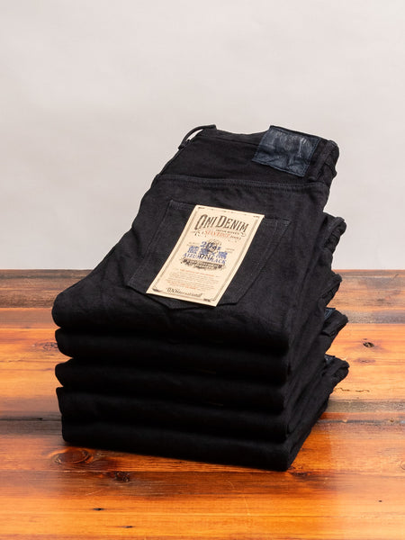 "679AIZ ""Aizumi x Black Secret"" 20oz Selvedge Denim - Strong Tapered Fit"
