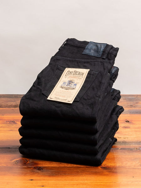 "902AIZ ""Aizumi x Black Secret"" 20oz Selvedge Denim - High Tapered Fit"