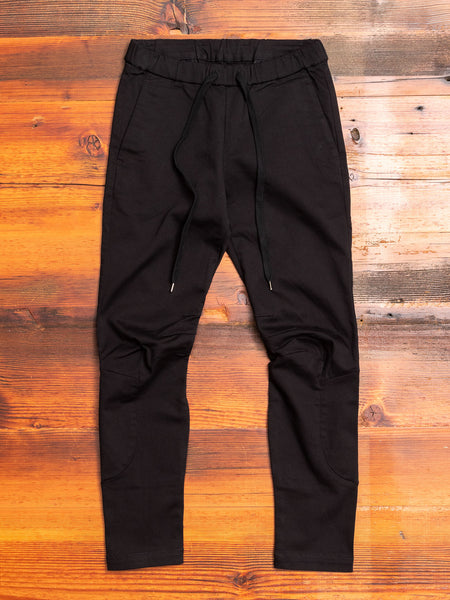 Power Stretch Twill Rider Pants in Black