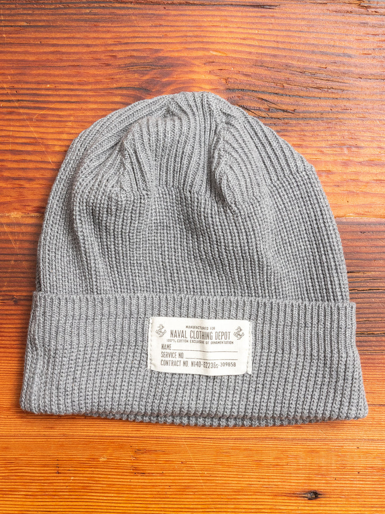 Naval Watch Cap in Grey