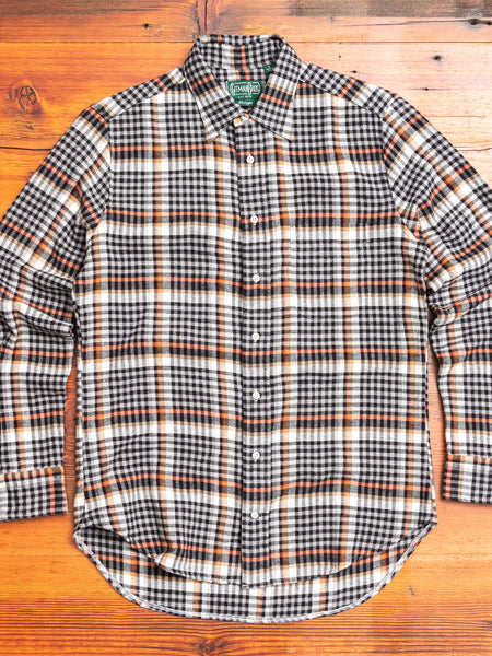 Country Plaid Flannel in Grey