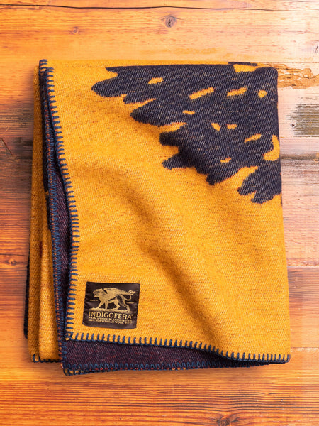 """Eagle"" Norwegian Wool Blanket"