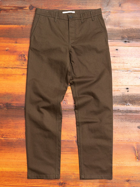 Aros Heavy Chino in Beech Green
