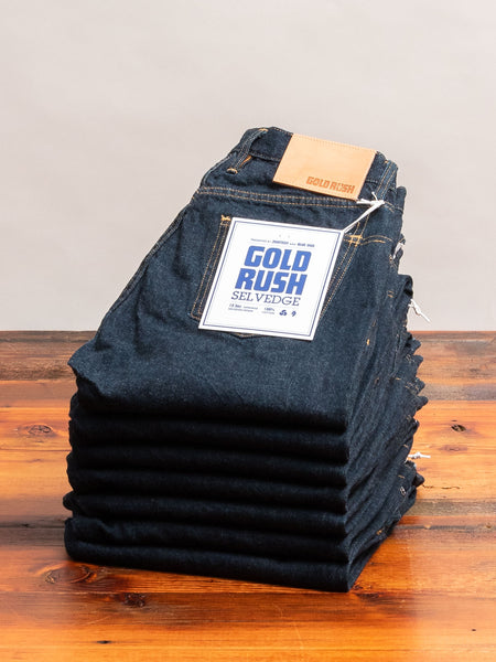 "3sixteen x Blue Owl ""Gold Rush"" Selvedge Denim - Classic Tapered Fit"