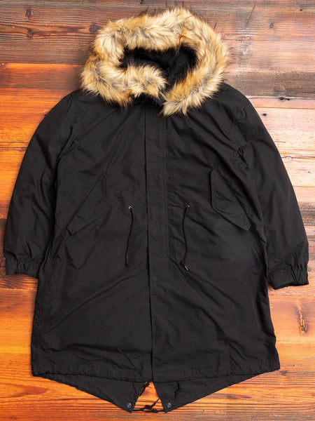 Fishtail Parka in Black