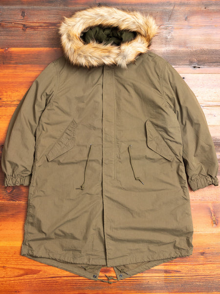 Fishtail Parka in Olive