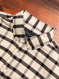 Blanket Flannel Button-Down Shirt in Off-White