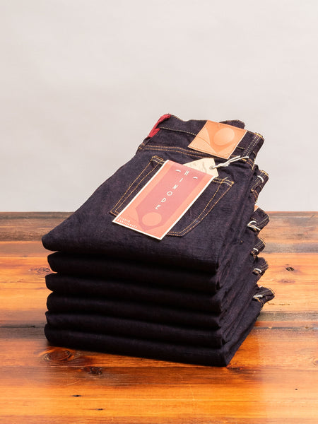 "D1820S ""Hinode"" 15oz Selvedge Denim - Relaxed Tapered Fit"