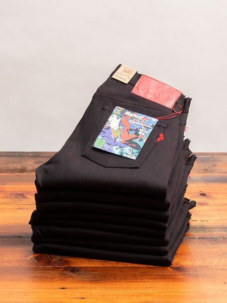 "Batman ""Queen of Chaos"" 12oz Stretch Selvedge Denim - Weird Guy Fit"
