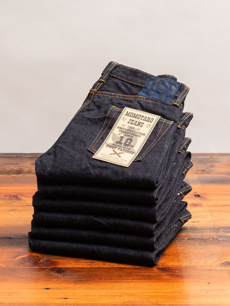 0301-18 18oz Selvedge Denim - Tight Tapered Fit