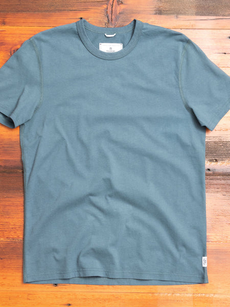 Ringspun Jersey T-Shirt in Pacific