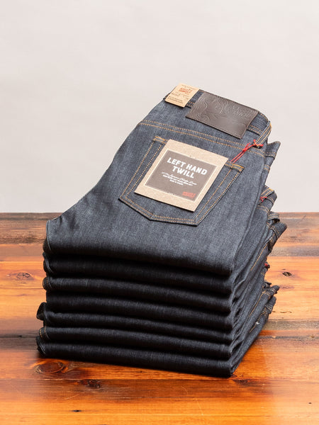 """Left Hand Twill"" 13.75oz Selvedge Denim - Weird Guy Fit"
