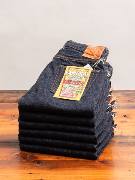 "S0511XX-II ""Otokogi"" 15oz Selvedge Denim - Slim Tapered Fit"