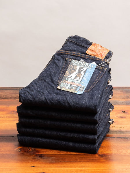 "S710XX19oz-II ""Kiwami"" 19oz Selvedge Denim - Slim Straight Fit"