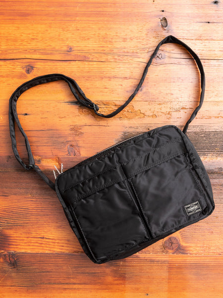 """Tanker"" Shoulder Bag (L) in Black"