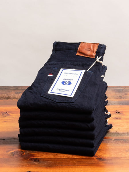 "IDT ""Double Indigo"" 15oz Selvedge Denim - Tapered Fit"