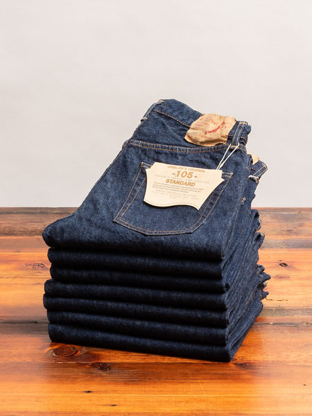 105 13.5oz Selvedge Denim - Standard Fit