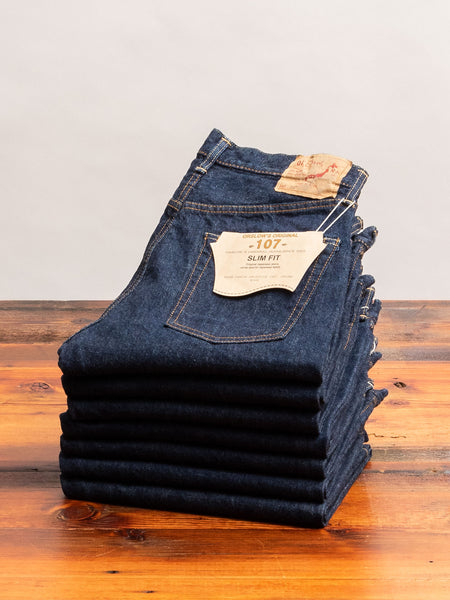107 13.5oz Selvedge Denim - Ivy Fit