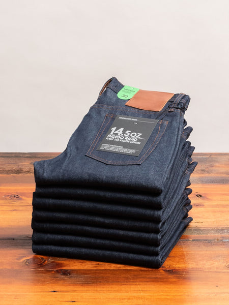 UB201 14.5oz Selvedge Denim - Tapered Fit