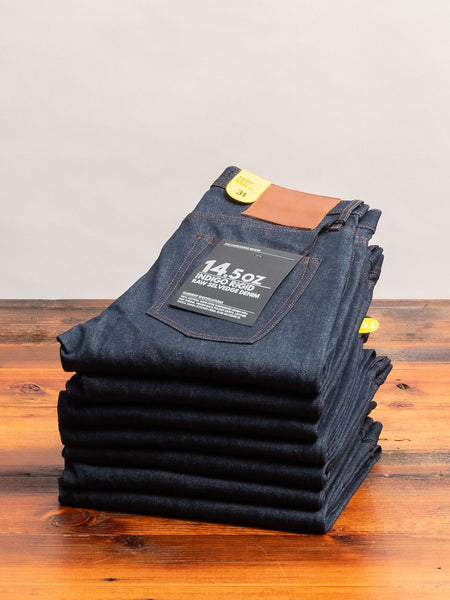 UB401 14.5oz Selvedge Denim - Tight Fit