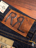 """East-West"" 16oz Rinsed Selvedge Denim - Slim Fit"
