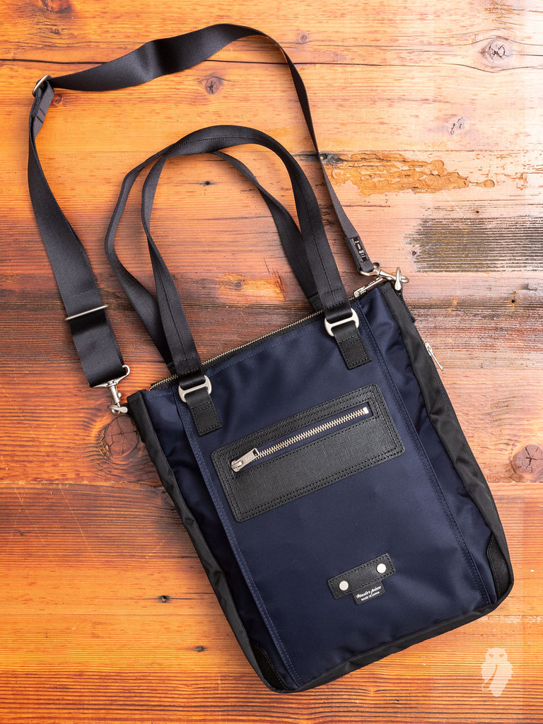 Slim Tote Bag in Navy